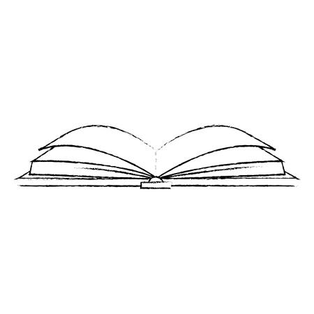 教科書×アイコンベクトルイラストデザイン
