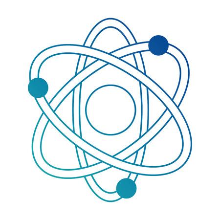 原子分子分離アイコン ベクトル イラスト デザイン