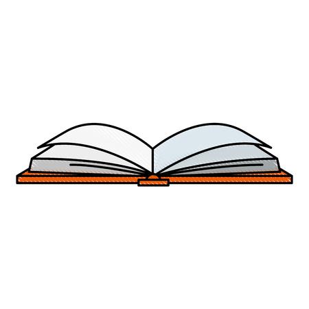 テキストブック分離アイコンベクトルイラストデザイン