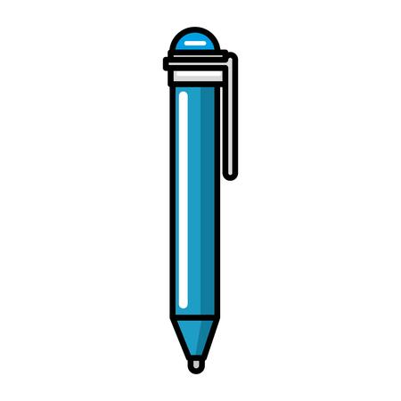 펜 공급 격리 아이콘 벡터 일러스트 디자인