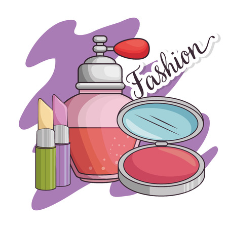 stylish woman fashion accesories vector illustration graphic design Stock Vector - 89288468