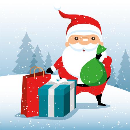 christmas big winter sale vector illustration graphic design