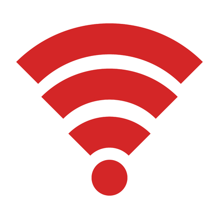 Red signal icon.