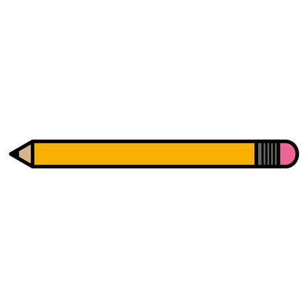 연필 학교 격리 된 아이콘 벡터 일러스트 디자인 스톡 콘텐츠 - 89549750