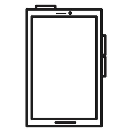 smartphone device isolated icon vector illustration design Stock Vector - 89534555