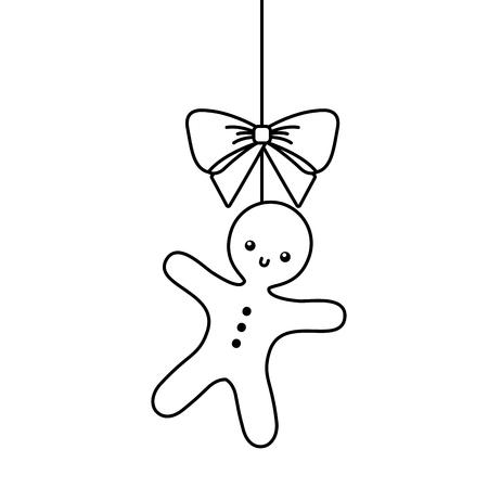 크리스마스 트리 장식 아이콘입니다. 일러스트