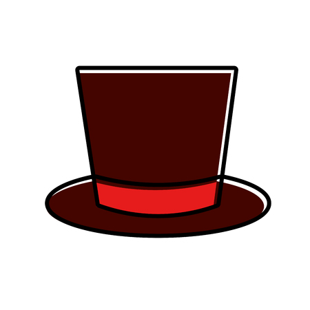 Hat icon. Illustration
