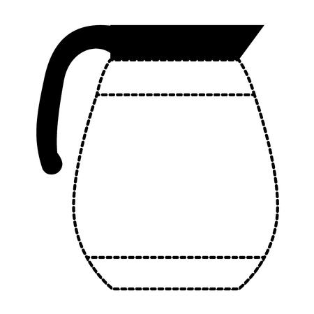 coffee teapot isolated icon vector illustration design