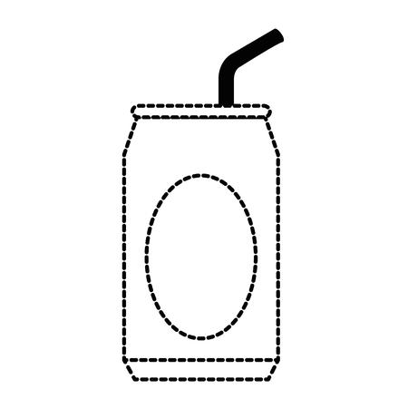 ソーダ缶アイコンデザイン。  イラスト・ベクター素材