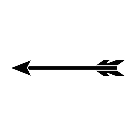 indian arrow isolated icon vector illustration design Vettoriali