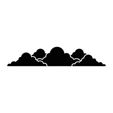 bush garden isolated icon vector illustration design Çizim