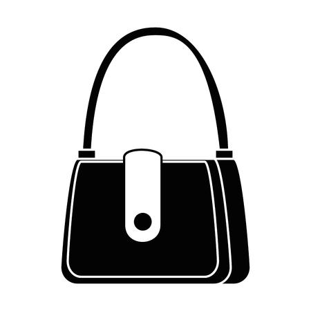 sac à main féminin élégant icône vector illustration design