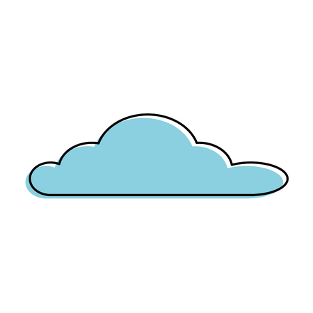 cloud sky isolated icon vector illustration design Stok Fotoğraf - 89548589