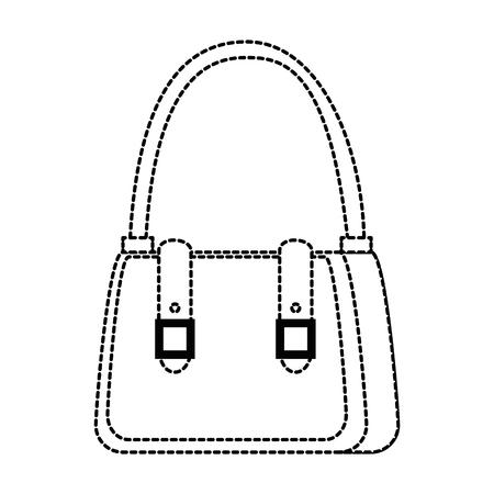 female handbag elegant icon vector illustration design