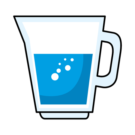 juice glass pot icon vector illustration design