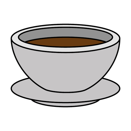 delicious cup coffee icon vector illustration design