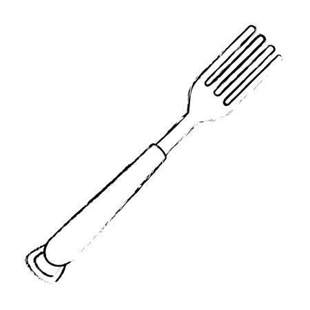foek cutlery isolated icon vector illustration design Illusztráció