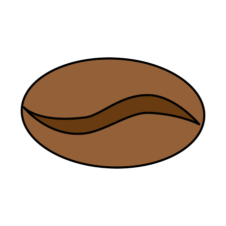 coffee seed isolated icon vector illustration design