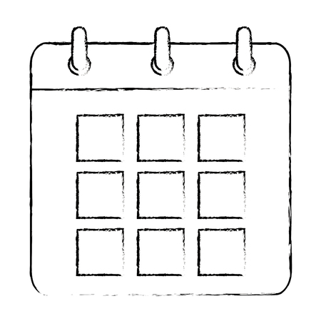 calendar reminder isolated icon vector illustration design