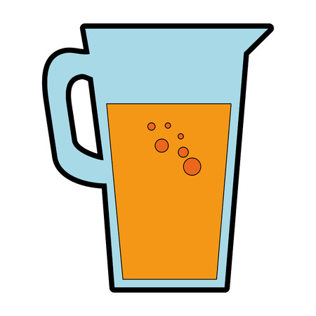 juice glass pot icon vector illustration design