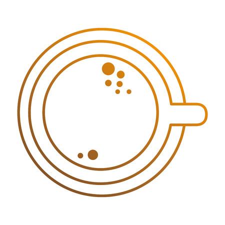 delicious cup coffee icon vector illustration design