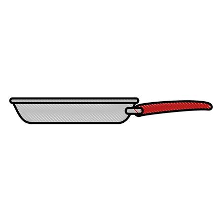 Cuisine pan isolé icône illustration vectorielle design Banque d'images - 89536473