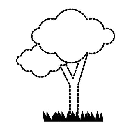 Icono de planta de árbol. Foto de archivo - 89534998