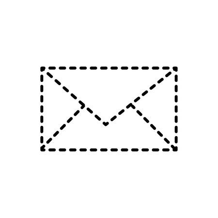 Email social media icon vector illustration