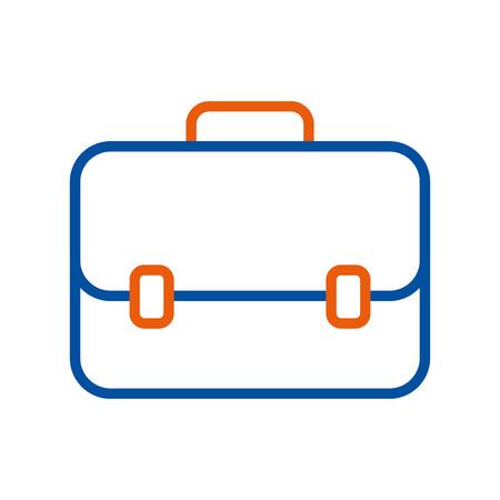 旅行のためのビジネスブリーフケースアイコンモダンなデザインベクトルイラスト 写真素材 - 89694370
