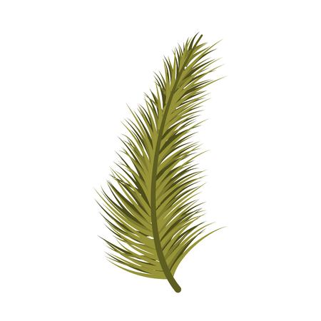 Weihnachtsdekoration Baum Kiefernblatt Vektor-Illustration Standard-Bild - 89694336