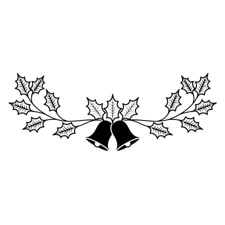Weihnachtsglocke-Symbol. Standard-Bild - 89700911