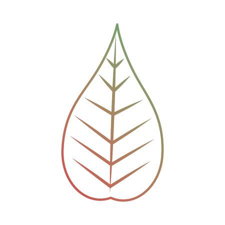 크리스마스 잎 장식입니다. 일러스트