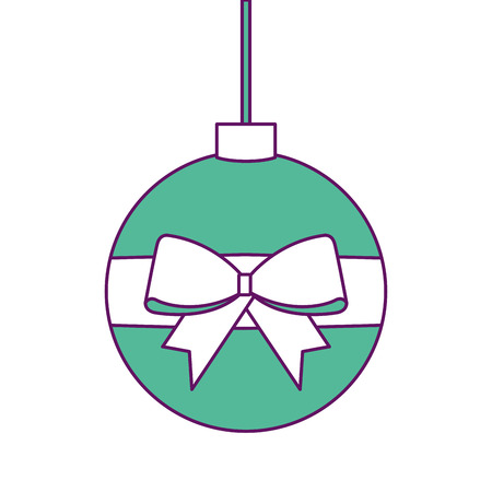 Christmas ball icon.