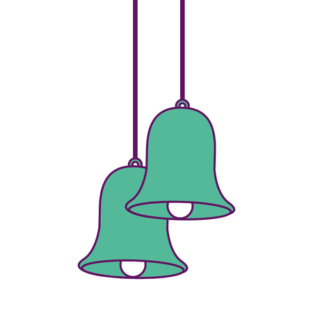 Christmas bells icon.