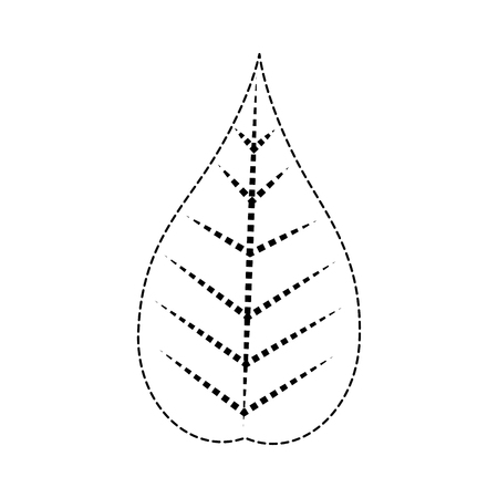 クリスマスの葉の飾りのアイコン。