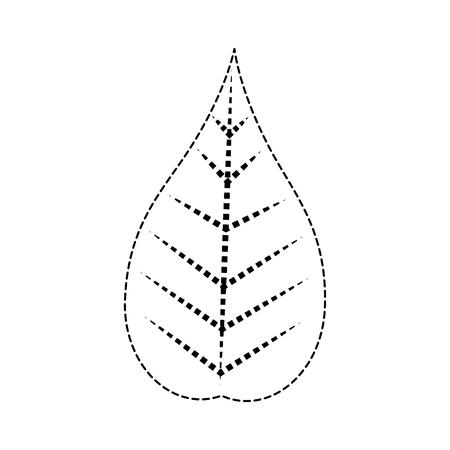 크리스마스 잎 장식 아이콘입니다.