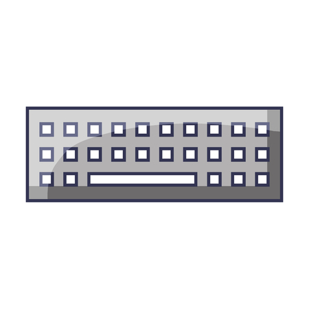 keyboard technology digital gadget image vector illustration