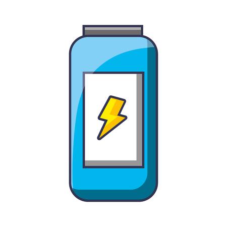 エネルギードリンクは新鮮な冷たいデザインベクトルイラストができます
