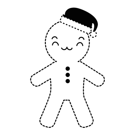 ginger bread character vector illustration design