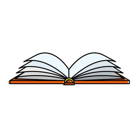 text book isolated icon vector illustration design Illusztráció