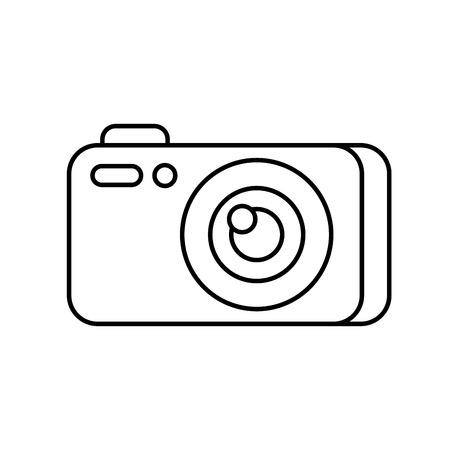 photography camera gadget studio equipment profesional vector illustration Ilustrace