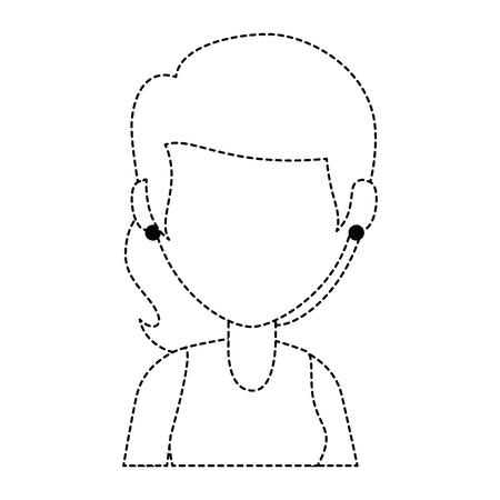 beautiful woman avatar character vector illustration design Stok Fotoğraf - 89841419