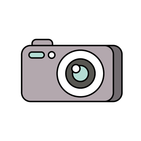 photography camera gadget studio equipment profesional vector illustration Illusztráció