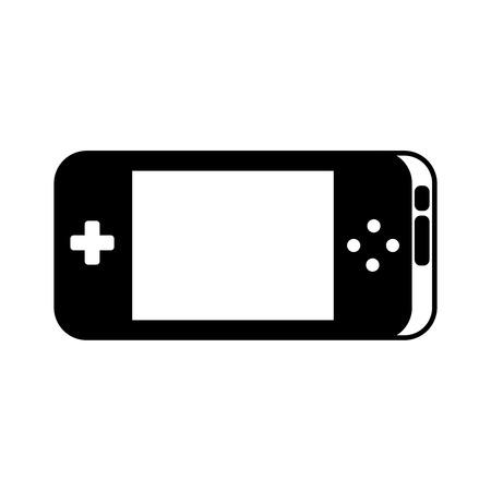 portable video game console gadget technology vector illustration Ilustração