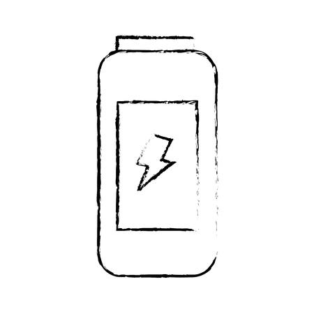 energy drink can fresh vitamins design vector illustration