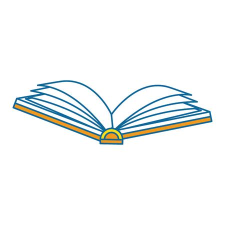 テキスト本分離アイコン ベクトル イラスト デザイン
