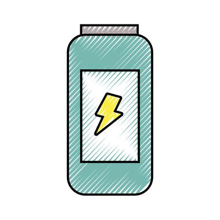 Boisson énergétique peut illustration vectorielle de vitamines fraîches design Banque d'images - 89850440
