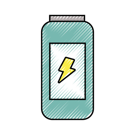 energy drink can fresh vitamins design vector illustration