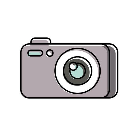 photography camera gadget studio equipment professional vector illustration