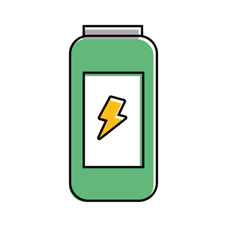 energy drink can fresh vitamin design vector illustration